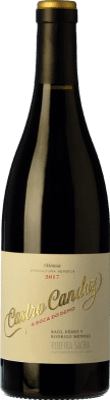 32,95 € Free Shipping | Red wine Castro Candaz A Boca do Demo Crianza D.O. Ribeira Sacra Galicia Spain Mencía Bottle 75 cl