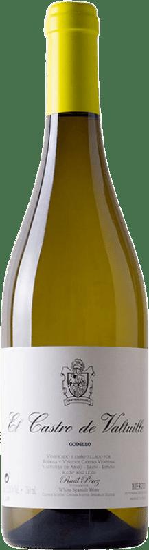 15,95 € Free Shipping | White wine Castro Ventosa El Castro de Valtuille Crianza D.O. Bierzo Castilla y León Spain Godello Bottle 75 cl