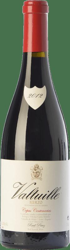 39,95 € Free Shipping | Red wine Castro Ventosa Valtuille Cepas Centenarias Crianza D.O. Bierzo Castilla y León Spain Mencía Bottle 75 cl