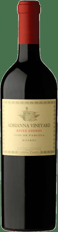 254,95 € Envío gratis | Vino tinto Catena Zapata Adrianna Vineyard River Stones Crianza I.G. Mendoza Mendoza Argentina Malbec Botella 75 cl