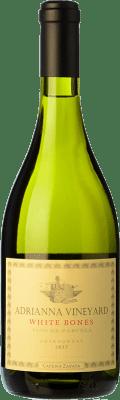 101,95 € Envío gratis | Vino blanco Catena Zapata White Bones Crianza I.G. Mendoza Mendoza Argentina Chardonnay Botella 75 cl