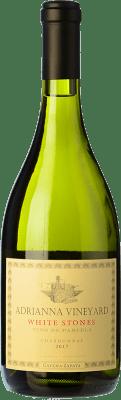101,95 € Envío gratis | Vino blanco Catena Zapata White Stones Crianza I.G. Mendoza Mendoza Argentina Chardonnay Botella 75 cl