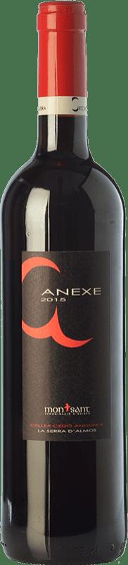 6,95 € Free Shipping | Red wine Cedó Anguera Anexe Joven D.O. Montsant Catalonia Spain Syrah, Grenache, Carignan Bottle 75 cl
