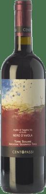 18,95 € Free Shipping   Red wine Centopassi Argille di Tagghia Via di Sutta I.G.T. Terre Siciliane Sicily Italy Nero d'Avola Bottle 75 cl