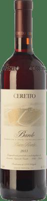 259,95 € Free Shipping | Red wine Ceretto Bricco Rocche D.O.C.G. Barolo Piemonte Italy Nebbiolo Bottle 75 cl