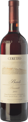 149,95 € Free Shipping | Red wine Ceretto Brunate D.O.C.G. Barolo Piemonte Italy Nebbiolo Bottle 75 cl