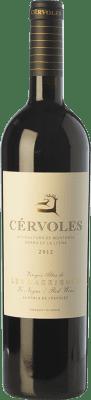 24,95 € Envío gratis | Vino tinto Cérvoles Crianza D.O. Costers del Segre Cataluña España Tempranillo, Merlot, Garnacha, Cabernet Sauvignon Botella 75 cl