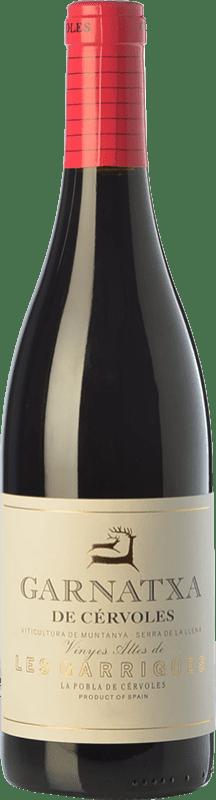 12,95 € Envío gratis | Vino tinto Cérvoles Garnatxa Joven D.O. Costers del Segre Cataluña España Garnacha Botella 75 cl