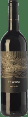 15,95 € Free Shipping | Red wine Cesconi Moratèl I.G.T. Vigneti delle Dolomiti Trentino Italy Merlot, Cabernet Sauvignon, Teroldego, Lagrein Bottle 75 cl