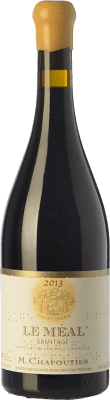 443,95 € Free Shipping | Red wine Chapoutier Le Méal Rouge Crianza A.O.C. Hermitage Rhône France Syrah Bottle 75 cl