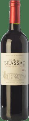 7,95 € Envoi gratuit | Vin rouge Château Brassac Joven A.O.C. Bordeaux Supérieur Bordeaux France Merlot, Cabernet Sauvignon, Cabernet Franc Bouteille 75 cl