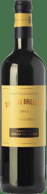 16,95 € Envoi gratuit   Vin rouge Château Brillette A.O.C. Moulis-en-Médoc Bordeaux France Merlot, Cabernet Sauvignon, Cabernet Franc, Petit Verdot Bouteille 75 cl