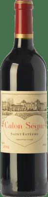 136,95 € Free Shipping | Red wine Château Calon Ségur Crianza A.O.C. Saint-Estèphe Bordeaux France Merlot, Cabernet Sauvignon, Petit Verdot Bottle 75 cl