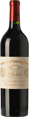 951,95 € Free Shipping | Red wine Château Cheval Reserva A.O.C. Saint-Émilion Grand Cru Bordeaux France Merlot, Cabernet Franc Bottle 75 cl
