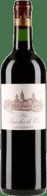 59,95 € Free Shipping   Red wine Château Cos d'Estournel Les Pagodes de Cos Crianza A.O.C. Saint-Estèphe Bordeaux France Merlot, Cabernet Sauvignon, Petit Verdot Bottle 75 cl