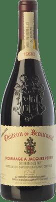 539,95 € Free Shipping | Red wine Château Beaucastel Hommage à Jacques Perrin Crianza A.O.C. Châteauneuf-du-Pape Rhône France Syrah, Grenache, Mourvèdre, Counoise Bottle 75 cl