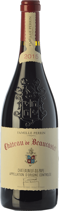 99,95 € Free Shipping   Red wine Château Beaucastel Rouge Crianza A.O.C. Châteauneuf-du-Pape Rhône France Syrah, Grenache, Mourvèdre, Cinsault, Counoise Bottle 75 cl