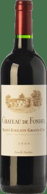 27,95 € Free Shipping | Red wine Château de Fonbel Crianza A.O.C. Saint-Émilion Grand Cru Bordeaux France Merlot, Cabernet Sauvignon, Petit Verdot, Carmenère Bottle 75 cl