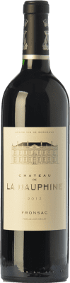 22,95 € Free Shipping | Red wine Château de la Dauphine Crianza A.O.C. Fronsac Bordeaux France Merlot, Cabernet Franc Bottle 75 cl