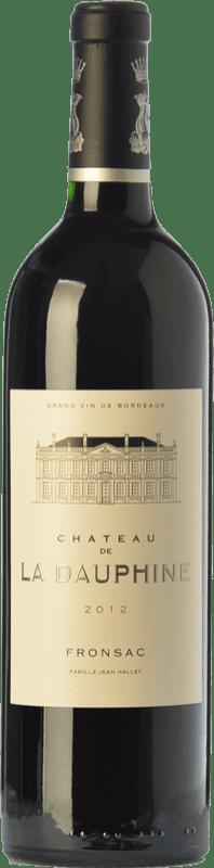 23,95 € Envoi gratuit | Vin rouge Château de la Dauphine Crianza A.O.C. Fronsac Bordeaux France Merlot, Cabernet Franc Bouteille 75 cl