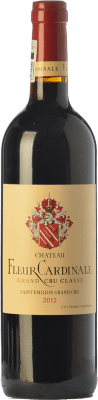 49,95 € Free Shipping | Red wine Château Fleur Cardinale Crianza A.O.C. Saint-Émilion Grand Cru Bordeaux France Merlot, Cabernet Sauvignon, Cabernet Franc Bottle 75 cl