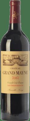 52,95 € Free Shipping   Red wine Château Grand Mayne Crianza A.O.C. Saint-Émilion Grand Cru Bordeaux France Merlot, Cabernet Sauvignon, Cabernet Franc Bottle 75 cl