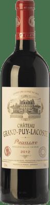 103,95 € Free Shipping | Red wine Château Grand-Puy-Lacoste Crianza A.O.C. Pauillac Bordeaux France Merlot, Cabernet Sauvignon Bottle 75 cl