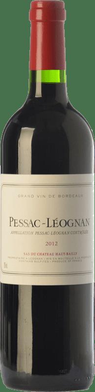 17,95 € Free Shipping | Red wine Château Haut-Bailly Crianza A.O.C. Pessac-Léognan Bordeaux France Merlot, Cabernet Sauvignon, Cabernet Franc Bottle 75 cl