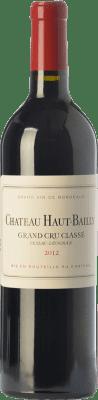 139,95 € Free Shipping | Red wine Château Haut-Bailly Crianza A.O.C. Pessac-Léognan Bordeaux France Merlot, Cabernet Sauvignon, Cabernet Franc Bottle 75 cl