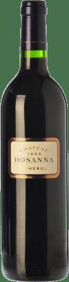 126,95 € Free Shipping | Red wine Château Hosanna Reserva 2007 A.O.C. Pomerol Bordeaux France Merlot, Cabernet Franc Bottle 75 cl