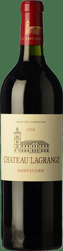 57,95 € Free Shipping | Red wine Château Lagrange Crianza A.O.C. Saint-Julien Bordeaux France Merlot, Cabernet Sauvignon, Petit Verdot Bottle 75 cl
