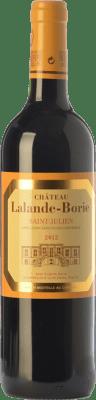 37,95 € Free Shipping | Red wine Château Lalande-Borie Crianza A.O.C. Saint-Julien Bordeaux France Merlot, Cabernet Sauvignon, Cabernet Franc Bottle 75 cl
