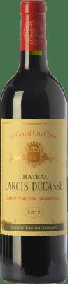 105,95 € Free Shipping | Red wine Château Larcis Ducasse Crianza A.O.C. Saint-Émilion Grand Cru Bordeaux France Merlot, Cabernet Franc Bottle 75 cl