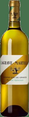 22,95 € Envío gratis | Vino blanco Château Latour-Martillac Lagrave-Martillac Blanc Crianza A.O.C. Pessac-Léognan Burdeos Francia Sauvignon Blanca, Sémillon Botella 75 cl