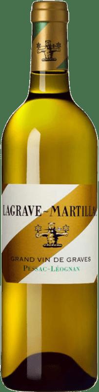 22,95 € Envoi gratuit | Vin blanc Château Latour-Martillac Lagrave-Martillac Blanc Crianza A.O.C. Pessac-Léognan Bordeaux France Sauvignon Blanc, Sémillon Bouteille 75 cl