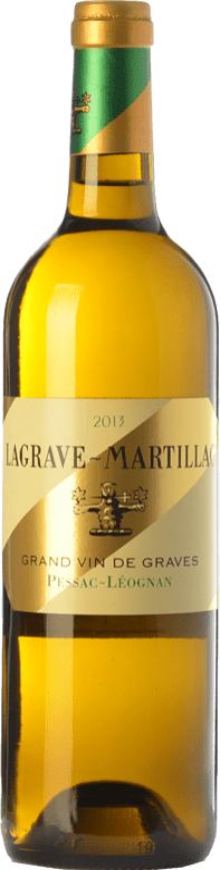 22,95 € Free Shipping | White wine Château Latour-Martillac Lagrave-Martillac Blanc Crianza A.O.C. Pessac-Léognan Bordeaux France Sauvignon White, Sémillon Bottle 75 cl