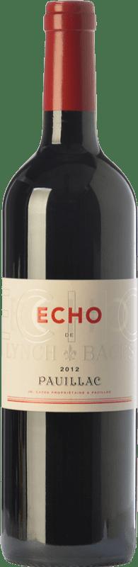 49,95 € Free Shipping | Red wine Château Lynch Bages Écho Crianza A.O.C. Pauillac Bordeaux France Merlot, Cabernet Sauvignon, Cabernet Franc Bottle 75 cl