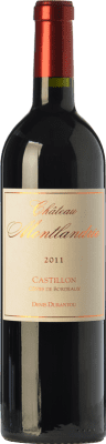 27,95 € Envoi gratuit   Vin rouge Château Montlandrie A.O.C. Côtes de Castillon Bordeaux France Merlot, Cabernet Franc Bouteille 75 cl