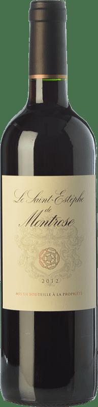 29,95 € Envío gratis | Vino tinto Château Montrose Crianza A.O.C. Saint-Estèphe Burdeos Francia Merlot, Cabernet Sauvignon Botella 75 cl