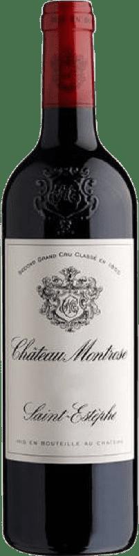 186,95 € Envío gratis | Vino tinto Château Montrose Crianza A.O.C. Saint-Estèphe Burdeos Francia Merlot, Cabernet Sauvignon, Cabernet Franc, Petit Verdot Botella 75 cl