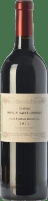 41,95 € Envío gratis | Vino tinto Château Moulin Saint-Georges Reserva A.O.C. Saint-Émilion Grand Cru Burdeos Francia Merlot, Cabernet Sauvignon, Cabernet Franc Botella 75 cl
