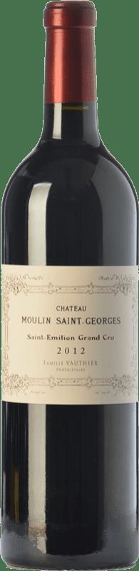 41,95 € Free Shipping | Red wine Château Moulin Saint-Georges Reserva A.O.C. Saint-Émilion Grand Cru Bordeaux France Merlot, Cabernet Sauvignon, Cabernet Franc Bottle 75 cl