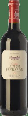 37,95 € Free Shipping | Red wine Château Peyrabon La Fleur Crianza A.O.C. Pauillac Bordeaux France Merlot, Cabernet Sauvignon, Petit Verdot Bottle 75 cl