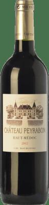19,95 € Free Shipping | Red wine Château Peyrabon Crianza A.O.C. Haut-Médoc Bordeaux France Merlot, Cabernet Sauvignon, Cabernet Franc, Petit Verdot Bottle 75 cl