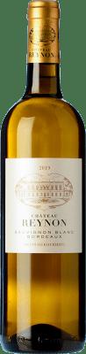 11,95 € Free Shipping | White wine Château Reynon Blanc Crianza A.O.C. Bordeaux Bordeaux France Sauvignon White Bottle 75 cl