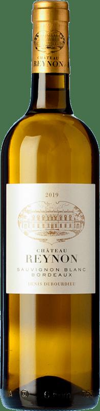 9,95 € Envío gratis | Vino blanco Château Reynon Blanc Crianza A.O.C. Bordeaux Burdeos Francia Sauvignon Blanca Botella 75 cl