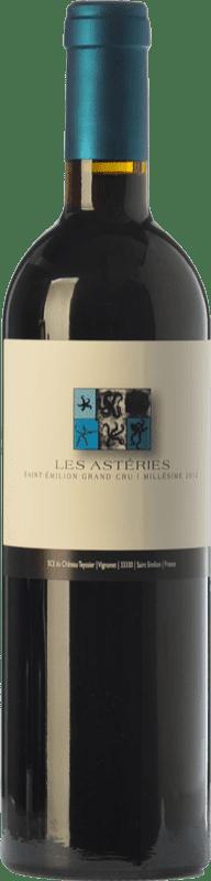 94,95 € Free Shipping   Red wine Château Teyssier Les Astéries Crianza A.O.C. Saint-Émilion Grand Cru Bordeaux France Merlot, Cabernet Franc Bottle 75 cl