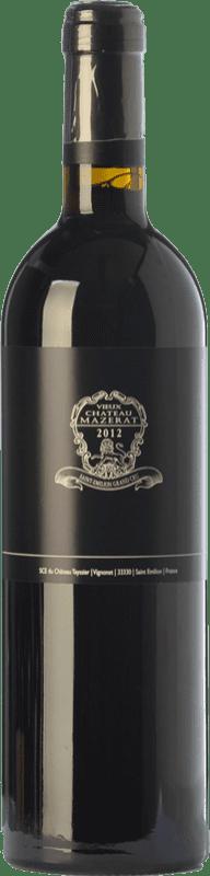 Vin rouge Château Teyssier Vieux Château Mazerat Crianza A.O.C. Saint-Émilion Grand Cru Bordeaux France Merlot, Cabernet Franc Bouteille 75 cl