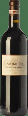 34,95 € Free Shipping | Red wine Château Troplong-Mondot Crianza A.O.C. Saint-Émilion Grand Cru Bordeaux France Merlot, Cabernet Sauvignon, Cabernet Franc Bottle 75 cl