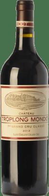 139,95 € Free Shipping | Red wine Château Troplong-Mondot Reserva A.O.C. Saint-Émilion Grand Cru Bordeaux France Merlot, Cabernet Sauvignon, Cabernet Franc Bottle 75 cl